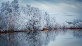 Twizel Hoar frost