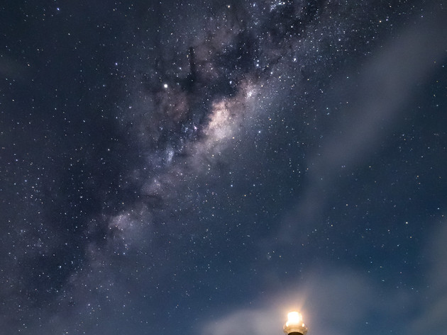 Cape Campbell Lighthouse Stars