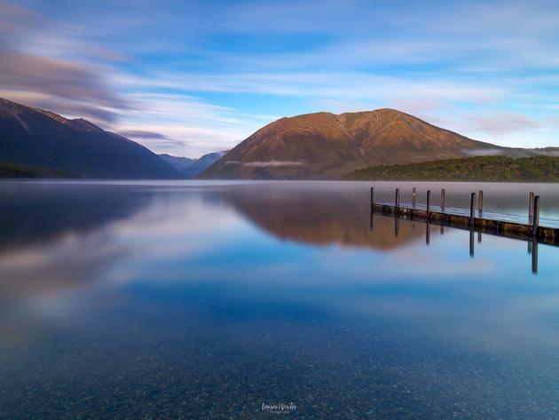 Morning Serenity at Lake Rotoiti
