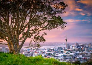 Mt Eden Sunset, Auckland