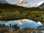 Alpine Tarn Reflections