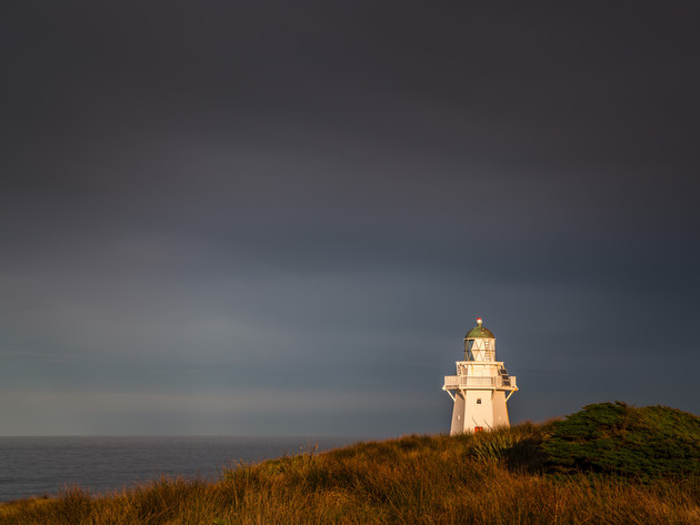 Storm Clouds at Waipapa Point Lighthouse