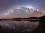 Lake Hauroko Milky Way Setting