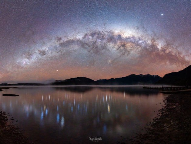 Lake Hauroko Milky Way Setting