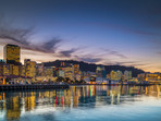 Wellington City and Harbour at Night