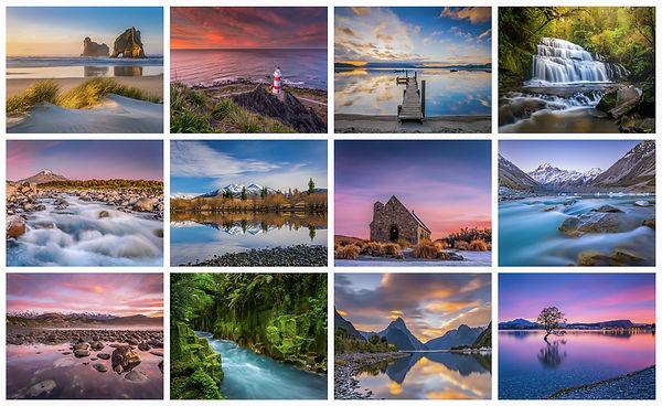 2021 New Zealand Calendar Laurie Winter
