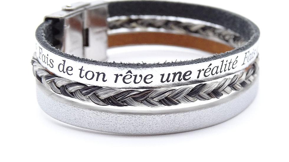 Bracelet en crin Galia