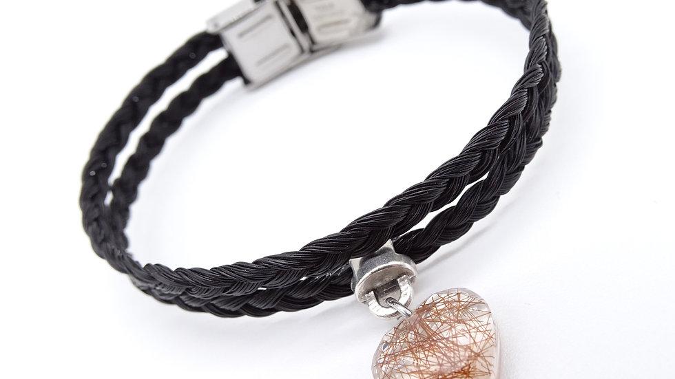 Bracelet en crin Flora