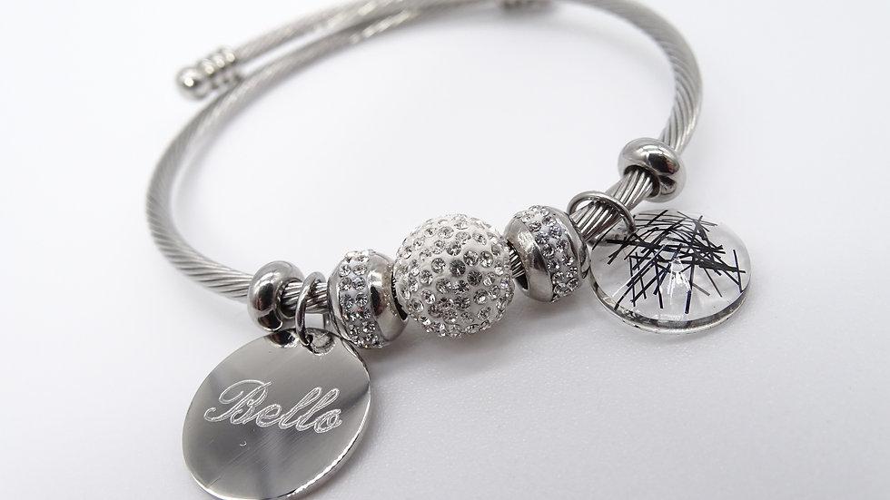 Bracelet en crin Julia