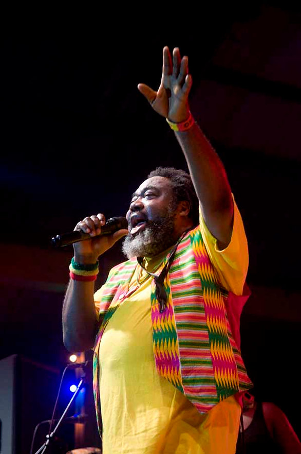 Ras Kimono a model, reservoir of knowledge – Reggae fans