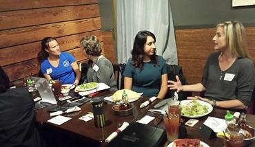 Women in a Lucheon meeting