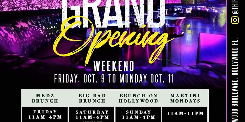 Grand Opening Weekend This Sunday