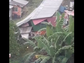 St Vincent: Floodwaters invade some shelters, 3 houses destroyed