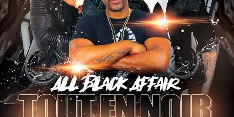 All Black Affair Tout en noir