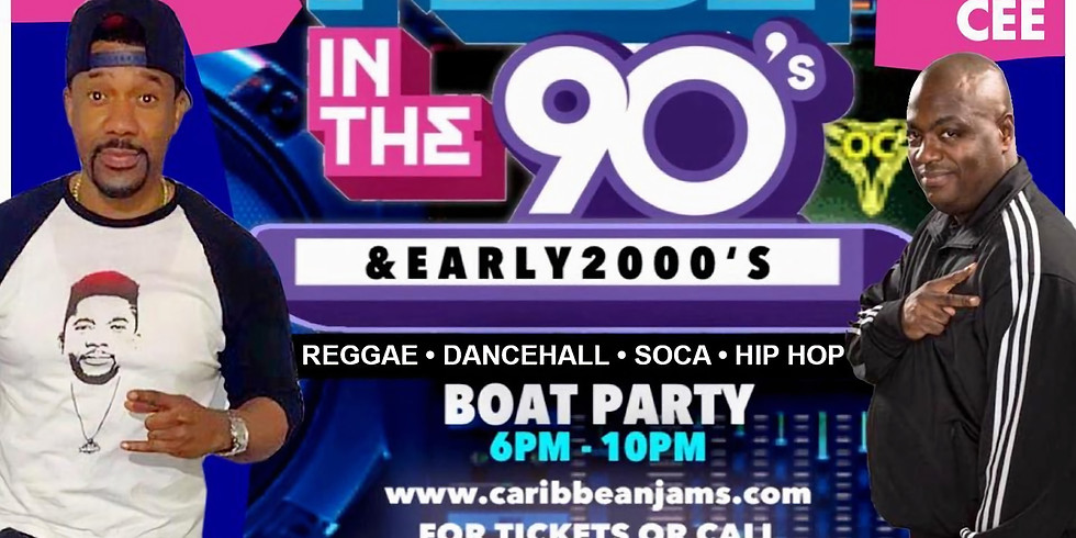 Made In The 90's and Early 2000's Yacht Party w/ DJ Norie and Friends