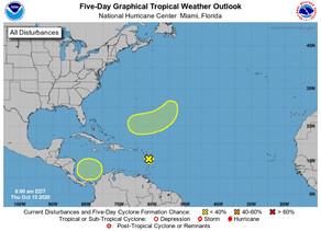 NHC monitors three weather systems