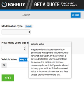 Hagerty Car Value >> Hagerty Valuation On Quote Integration Mysite