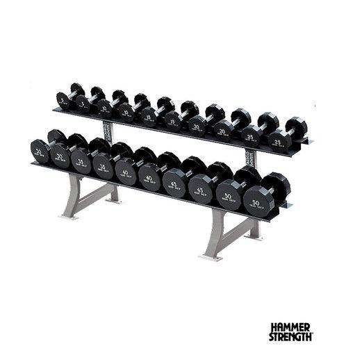 Hammer Strength Two Tier Dumbbell Rack (Life Fitness)
