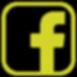 Yellow facebook logo