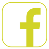 Yellow facebook logo