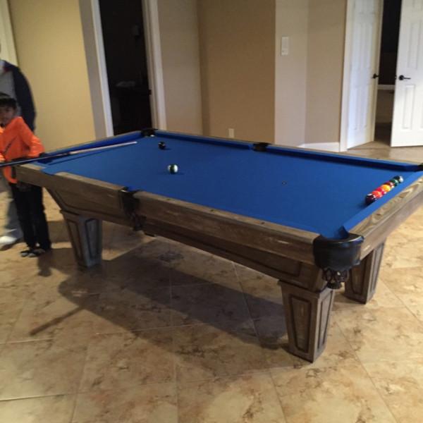 Brunswick Allenton Driftwood Pool Table