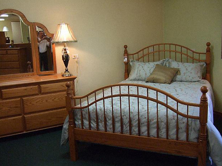 414 Double Bow Bed