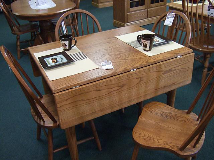 CVO Drop-leaf Table with WEN Denver Chairs