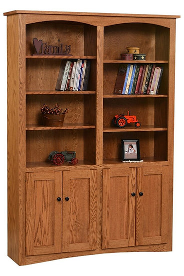 Shaker Bookcase with Doors