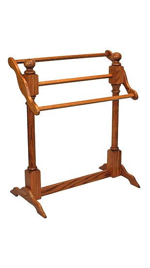 Slant Quilt Rack Stand by Carlisle Oak