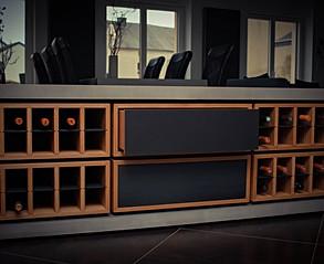 Custom Concrete Wine Rack