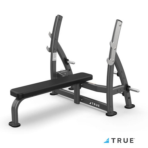XFW-7100 Supine Press Bench with Plate Holders (True Fitness)
