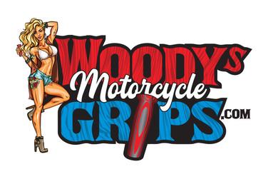 Woody's Grips Branding