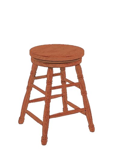 Pion Swivel Scoop Seat Stool