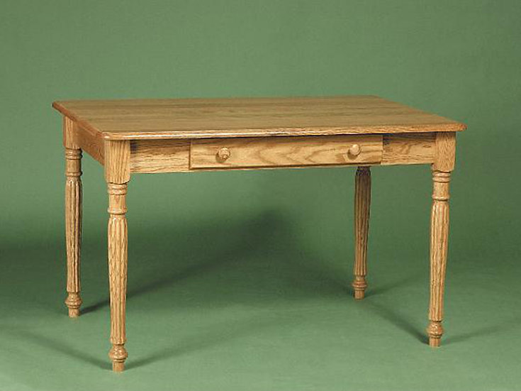 Colonial Fluted Library Table