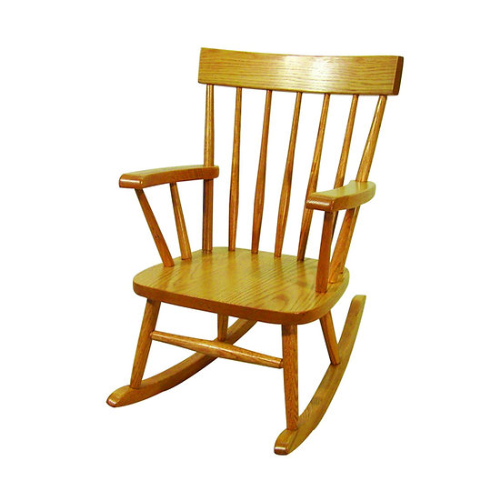Comb Back Childs Rocking Chair