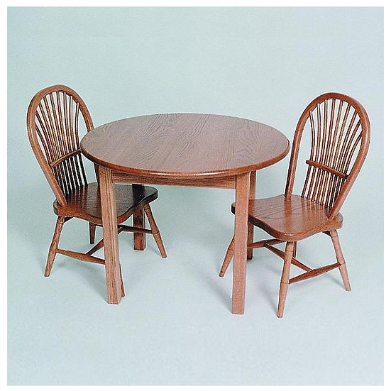 Childs Table with Sheaf Childs Chairs