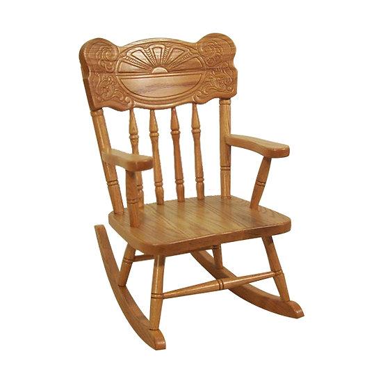 Sunburst Childs Rocking Chair