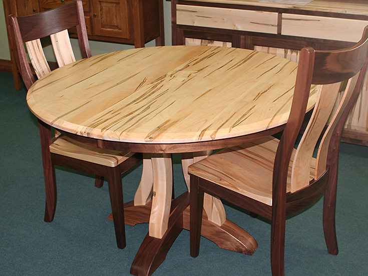 CVO Richfield Table with HLW Richfield Chairs
