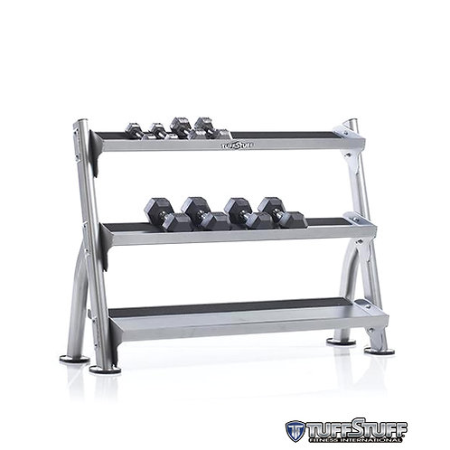 CDR-300 2-Tier Tray Dumbbell/Kettle Bell Rack (TuffStuff)