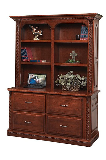 Lexington Double Lateral File with Hutch
