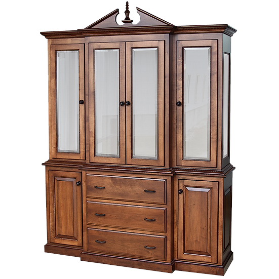 KW 2420 Pediment Hutch