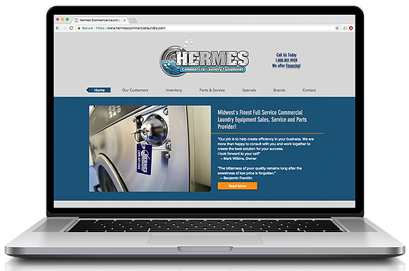 Hermes Commercial Laundry Equipment