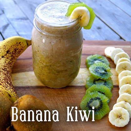 Banana Kiwi Jar Candle