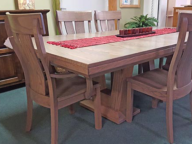 CVO McKay Table with HLW McKay Chairs