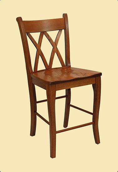 Double X Bar Chair by Wengerd