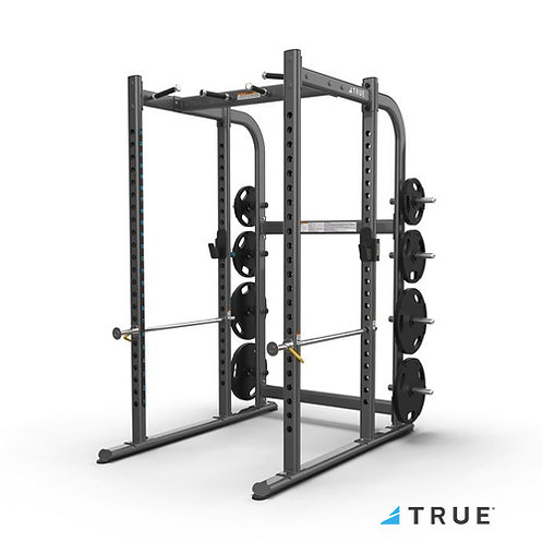 XFW-7900 Power Rack with Plate Holders (True Fitness)