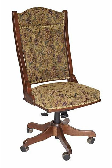 Side Desk Chair with Hydraulic Lift