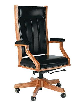 Mission Desk Chair by Buckeye