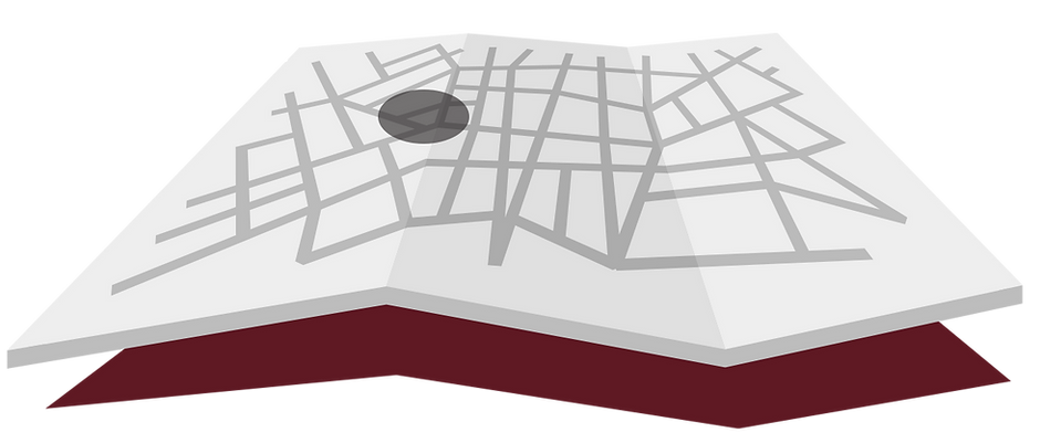 gray city map