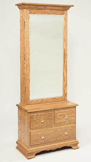 Bennet Mirrored Armoire